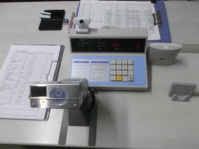 IC免許証連動式アルコール測定機